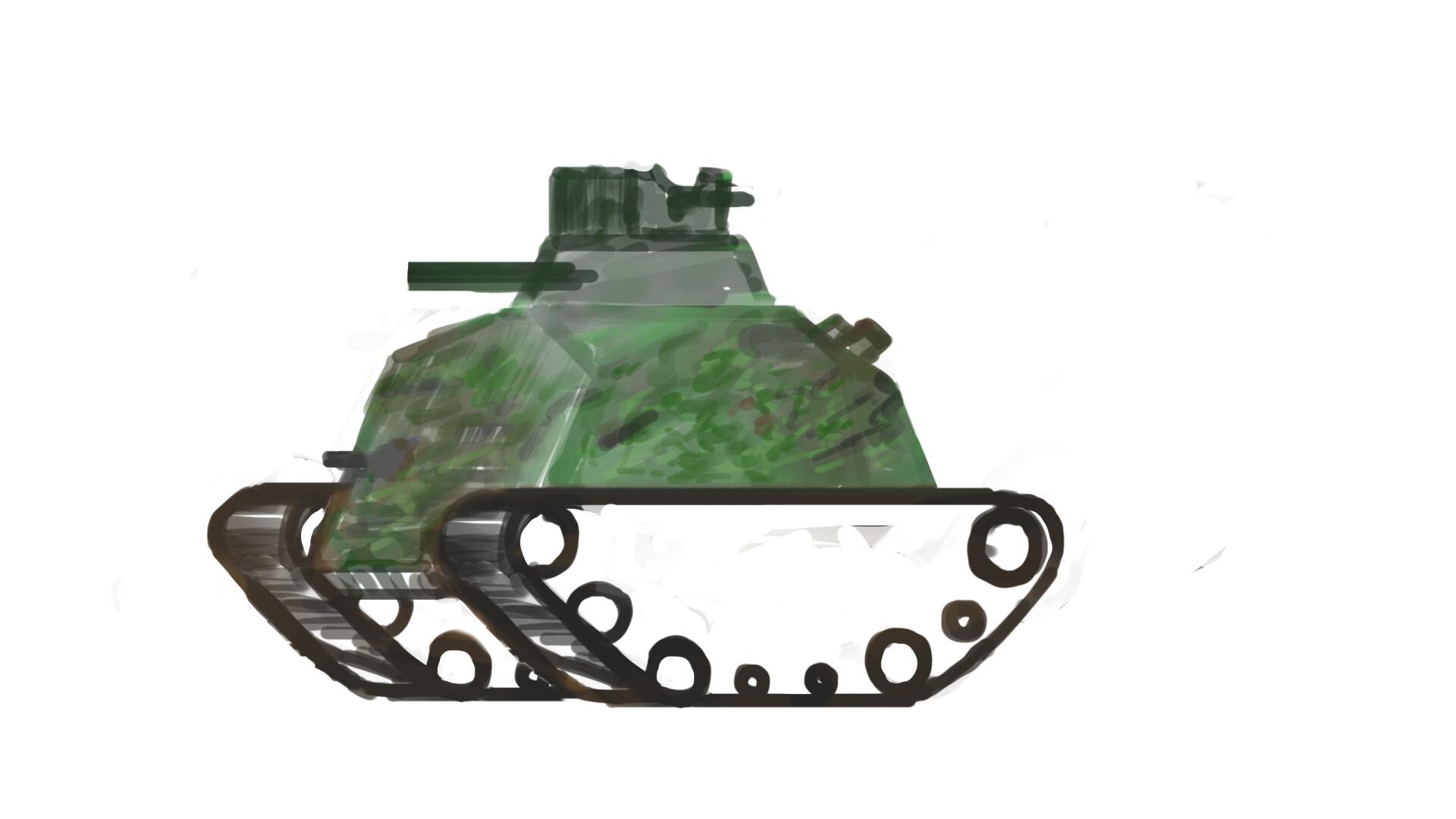 Alexander laheij tank