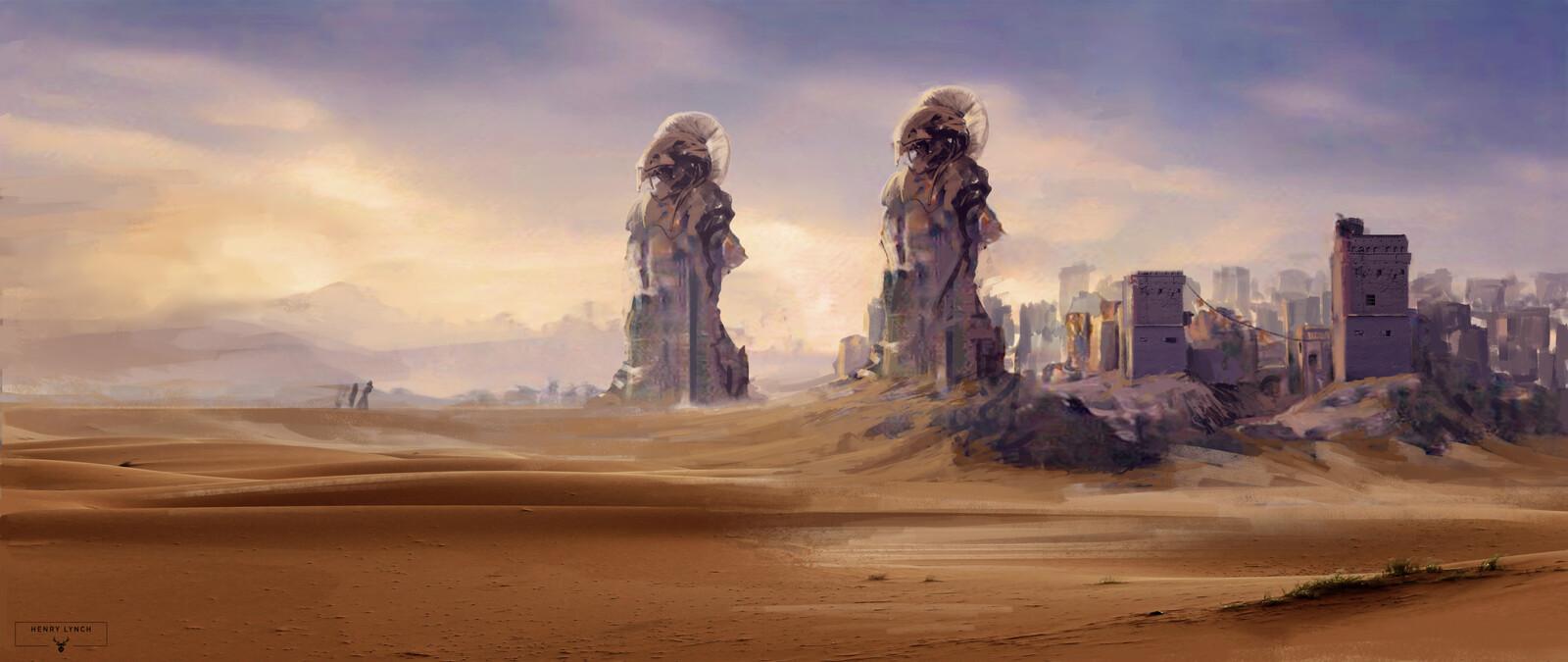 Desert City Concept (Entrance)