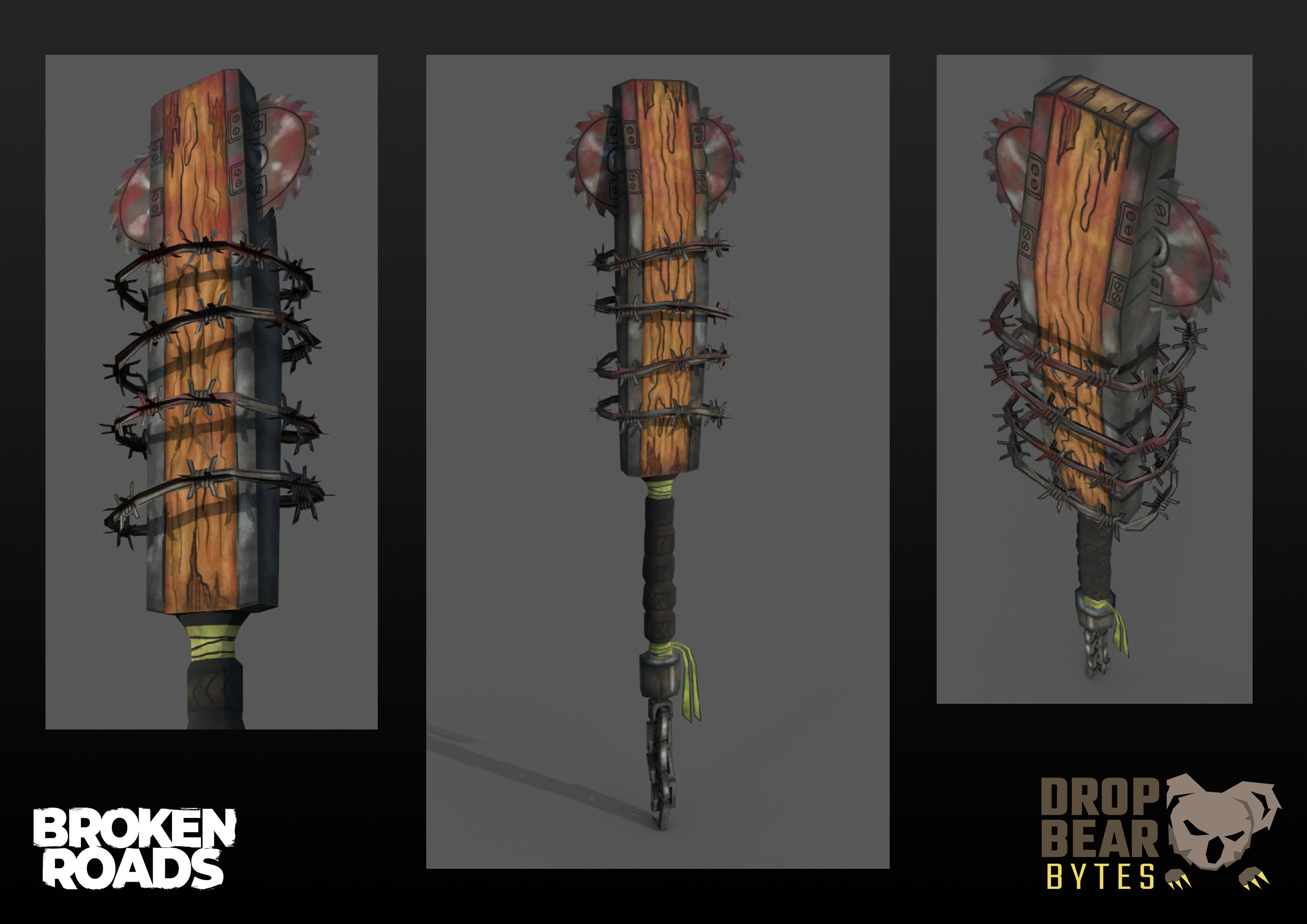 3D model and textures