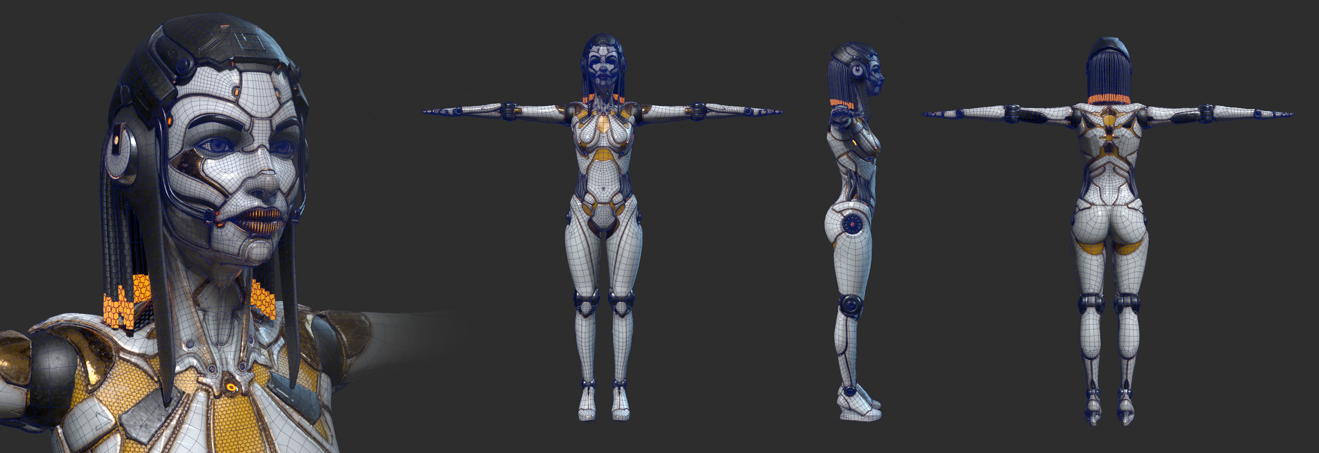 full body android (topology)