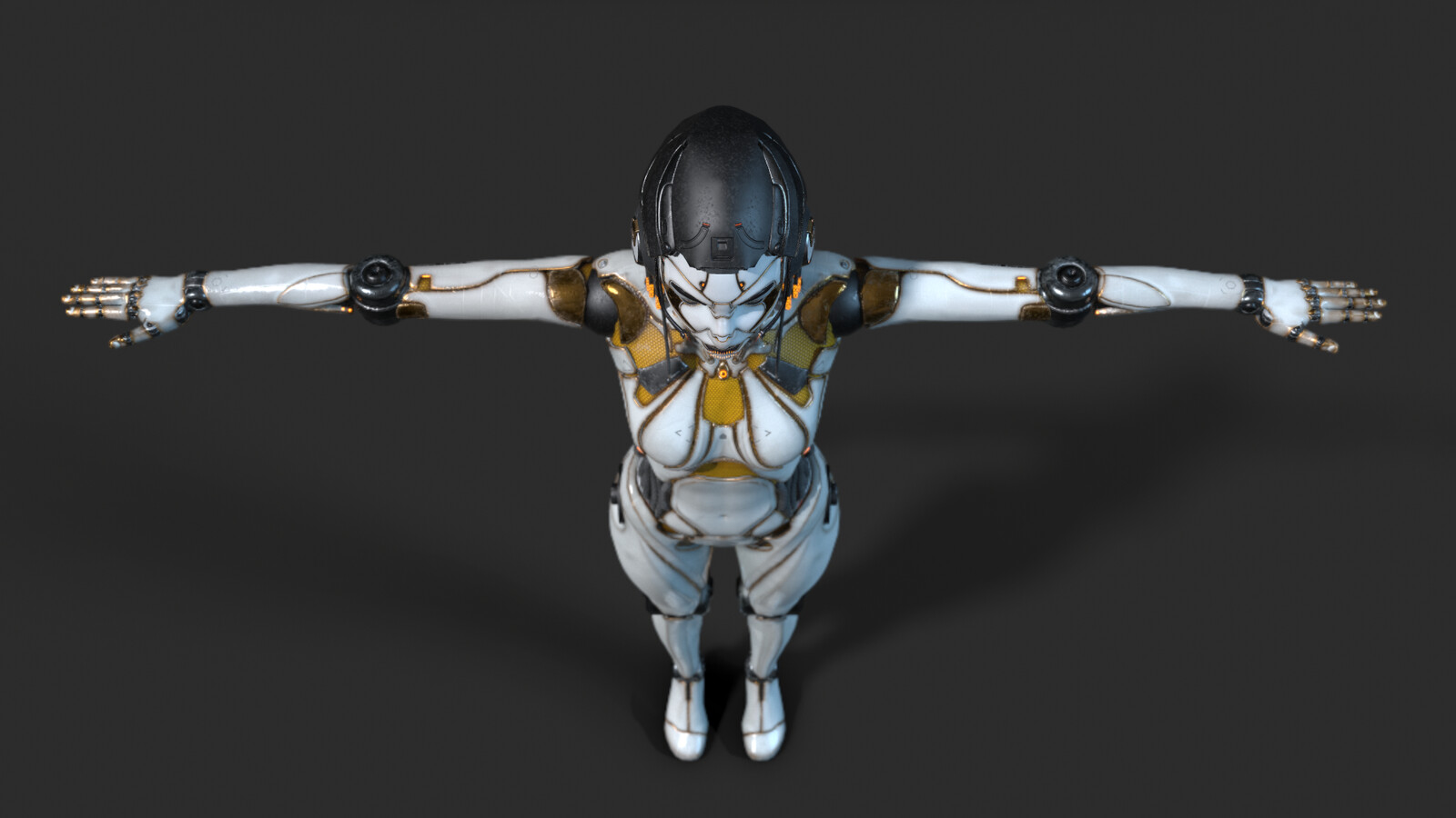 Full body android