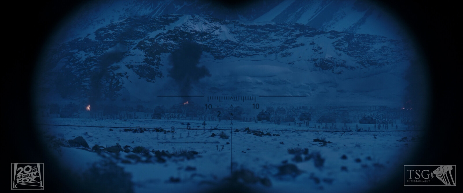 Full Digital Matte Painting. (with finishing assistance from fellow DMP artist, Matthew Munro)
