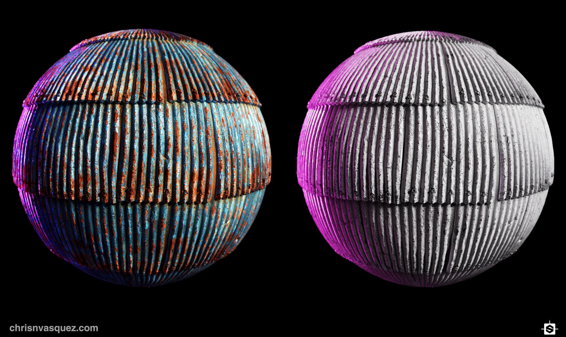 Christian vasquez corrugatedmetal duospheres cv