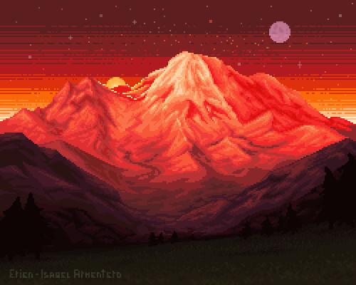 Pixel illustration #21 // Version 2