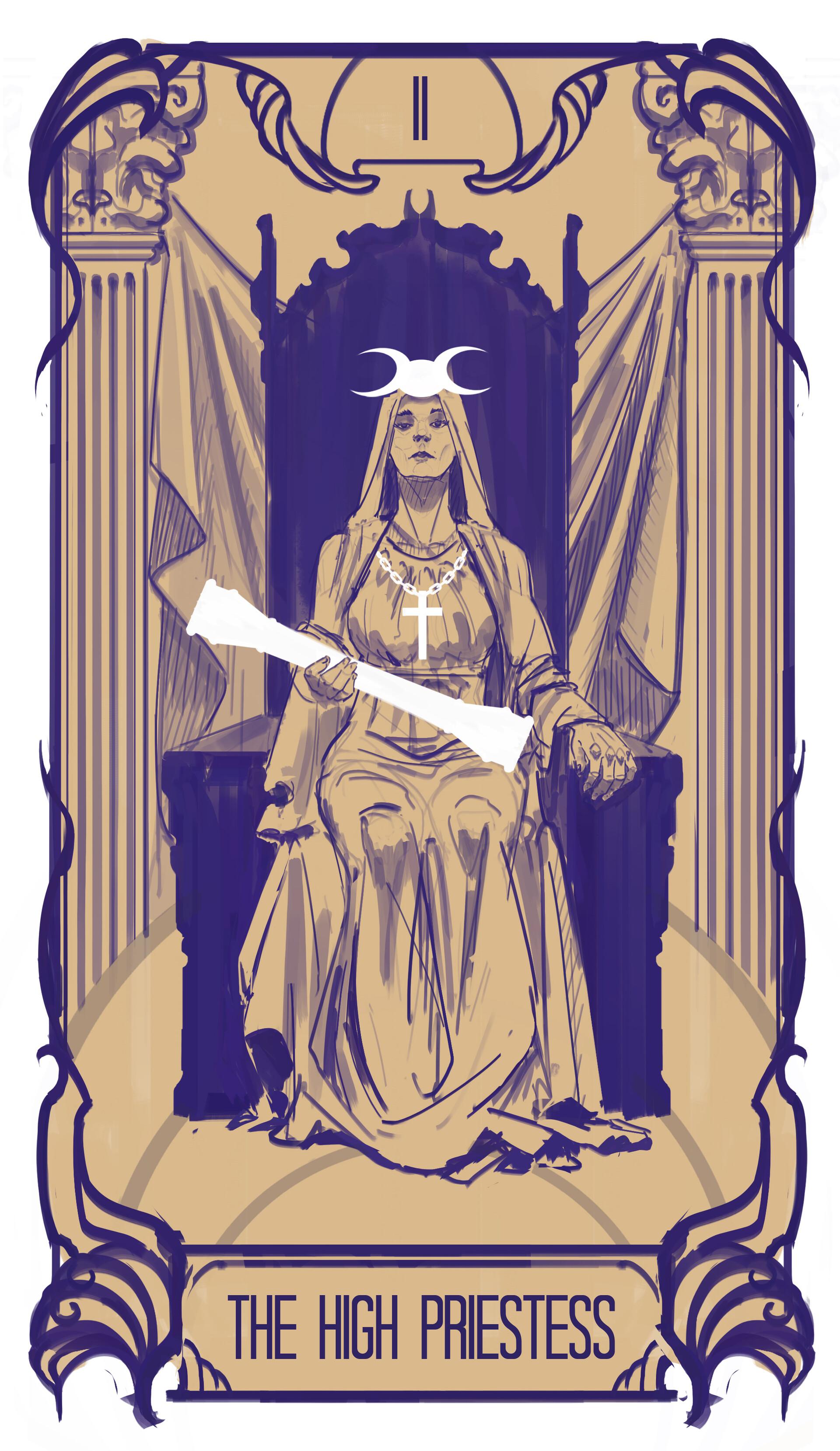 Arnesson art thomas hugo 2 the high priestess