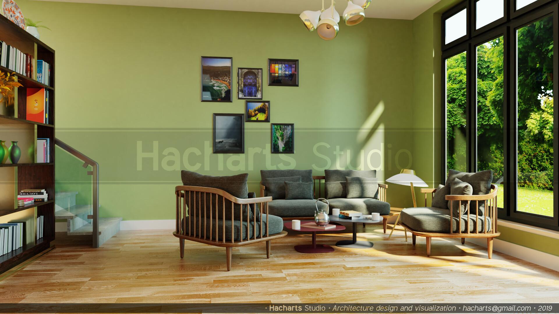 Moussa hachemi peaceful interior