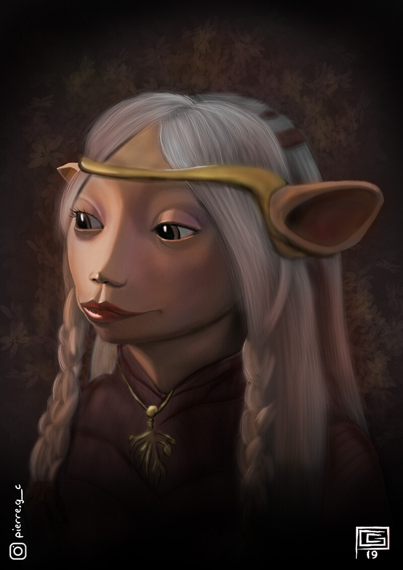 Brea from The Dark Crystal Age of Resistance