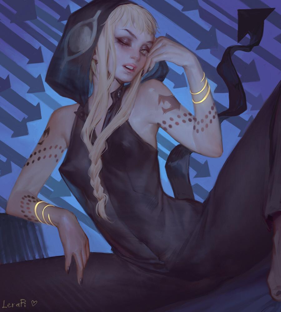 Artstation Medusa Gorgon From Soul Eater Fanart Lera Pi