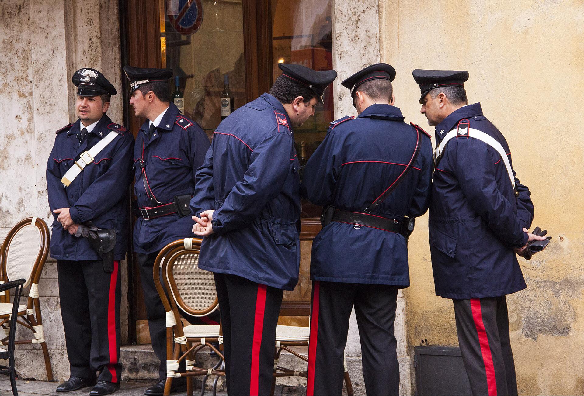 "The ""carabinieri"" of Montalcino"