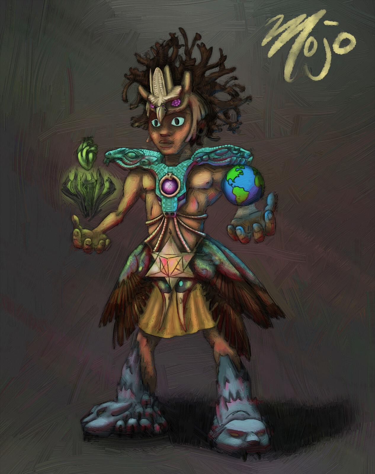 Mojo Character art