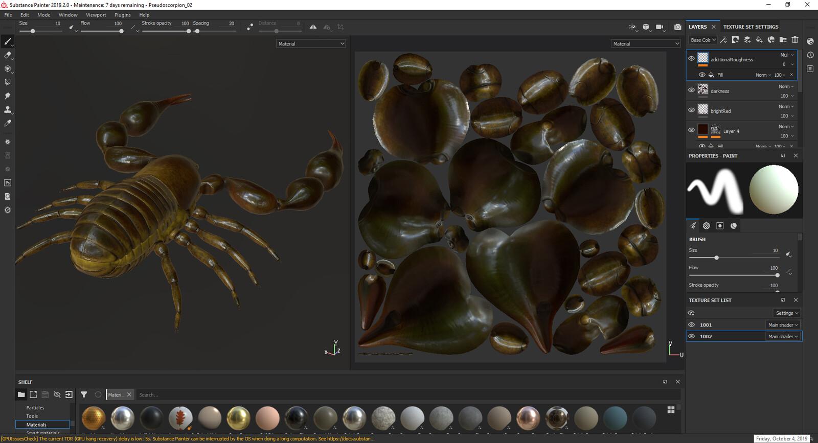 Substance Painter screenshot