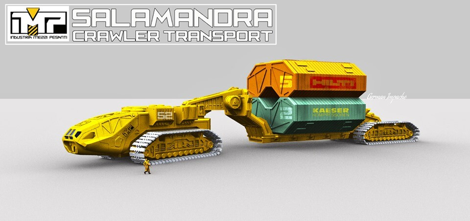 SALAMANDRA CRAWLER TRANSPORT