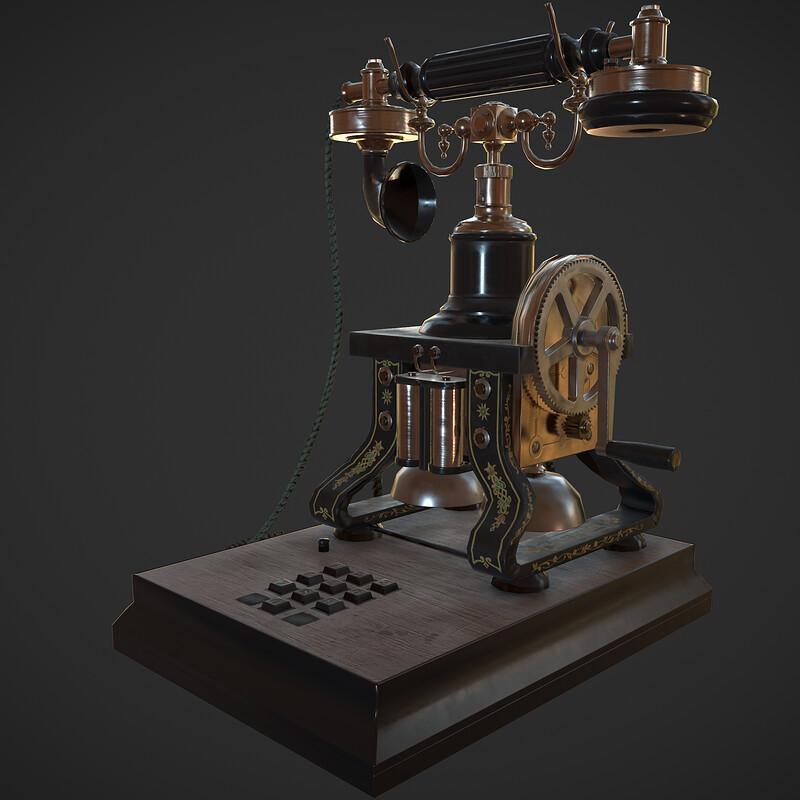 L.M.Ericsson Skeletal Telephone
