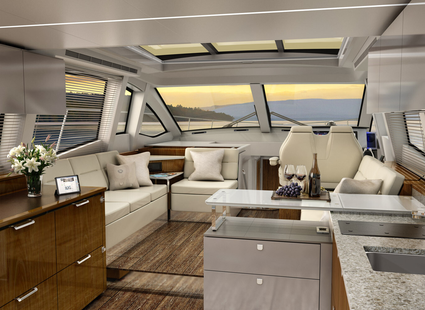 Sea Ray 520 Galley