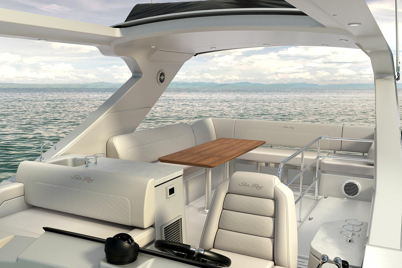 Sea Ray 520 Bridge Tasks: Modeling (seats)