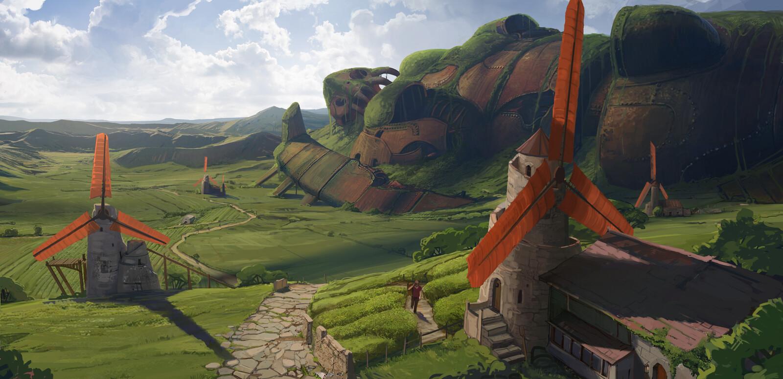 Nausicaa valley of the Wind fanart