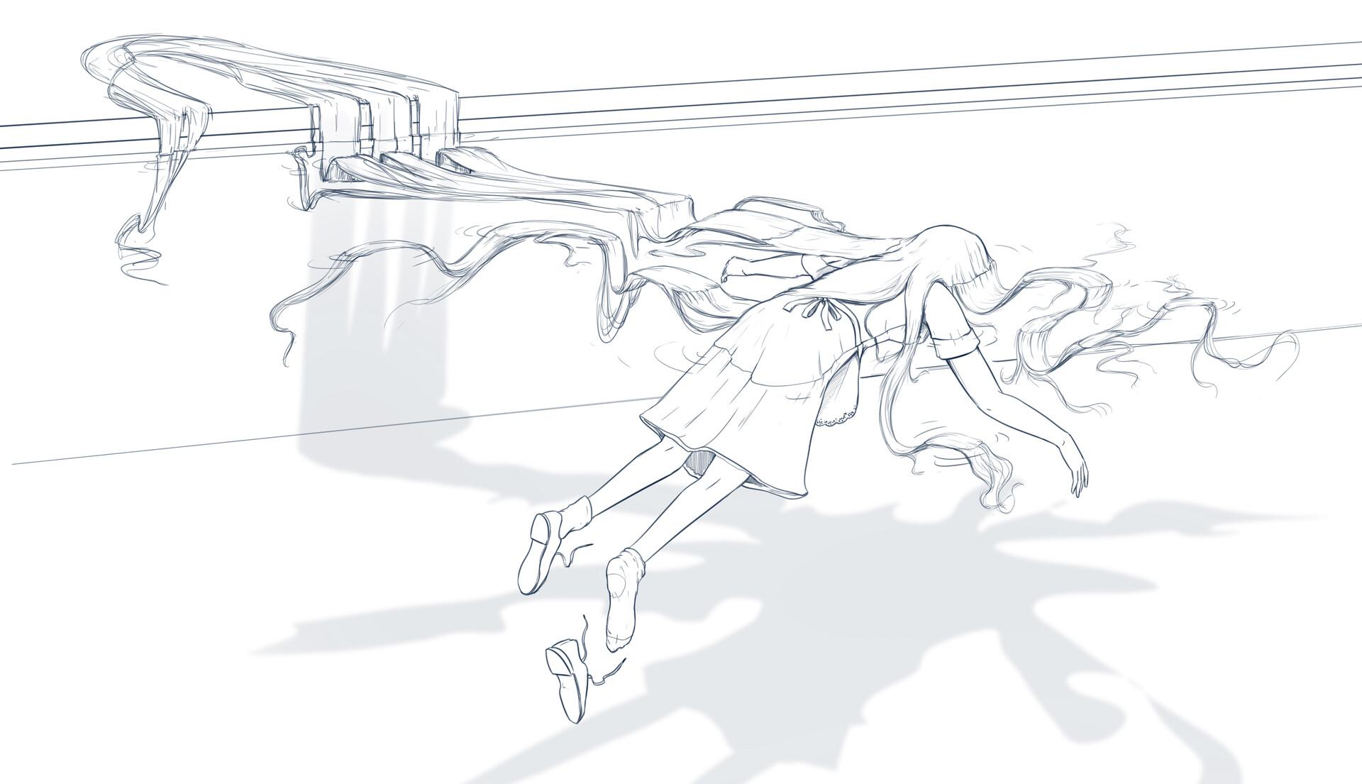 Huesos negros boceto 6