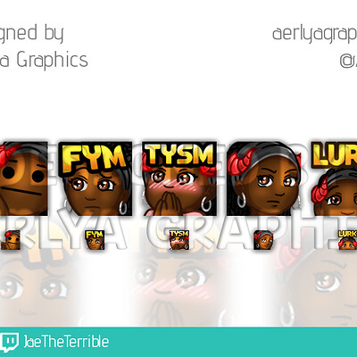 Aerlya graphics sample emotes jaetheterrible