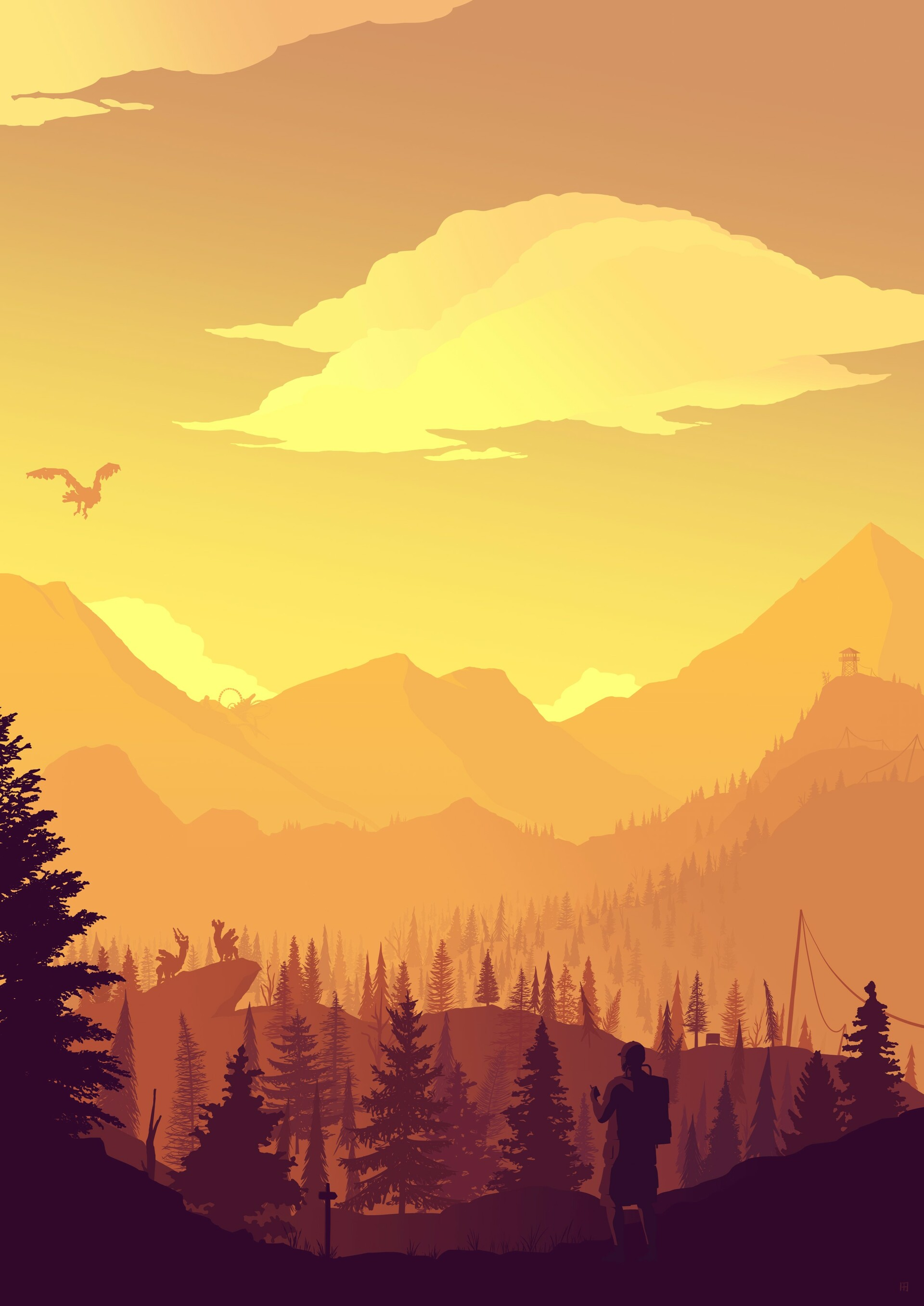 Firewatch Zero Dawn