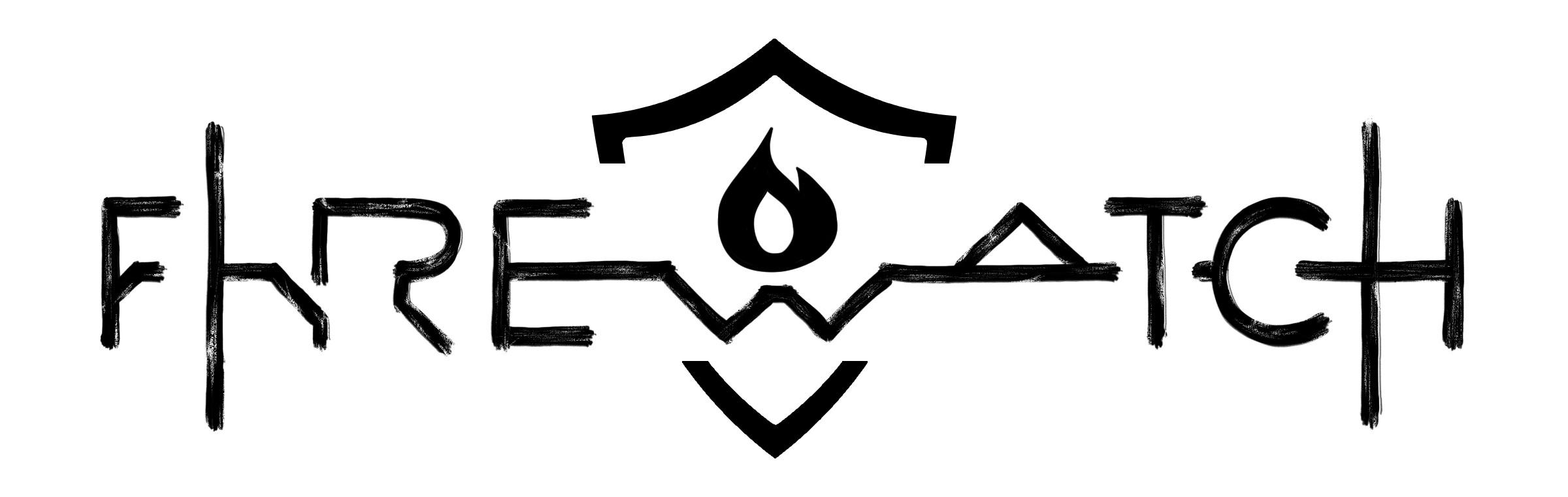 Firewatch Zero Dawn - logo concept Digital 2D, october 2019