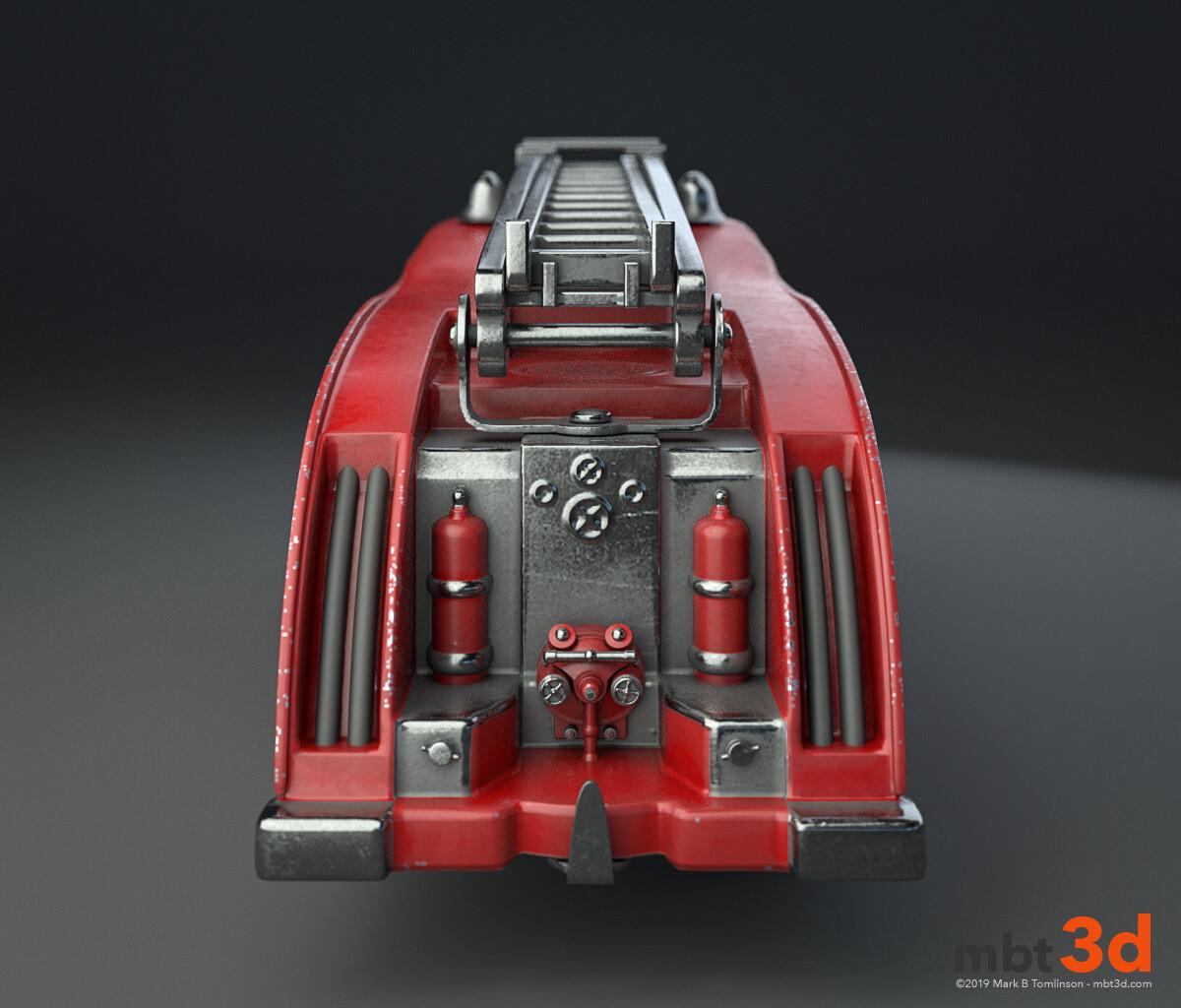 Dinky 555 Fire Engine: