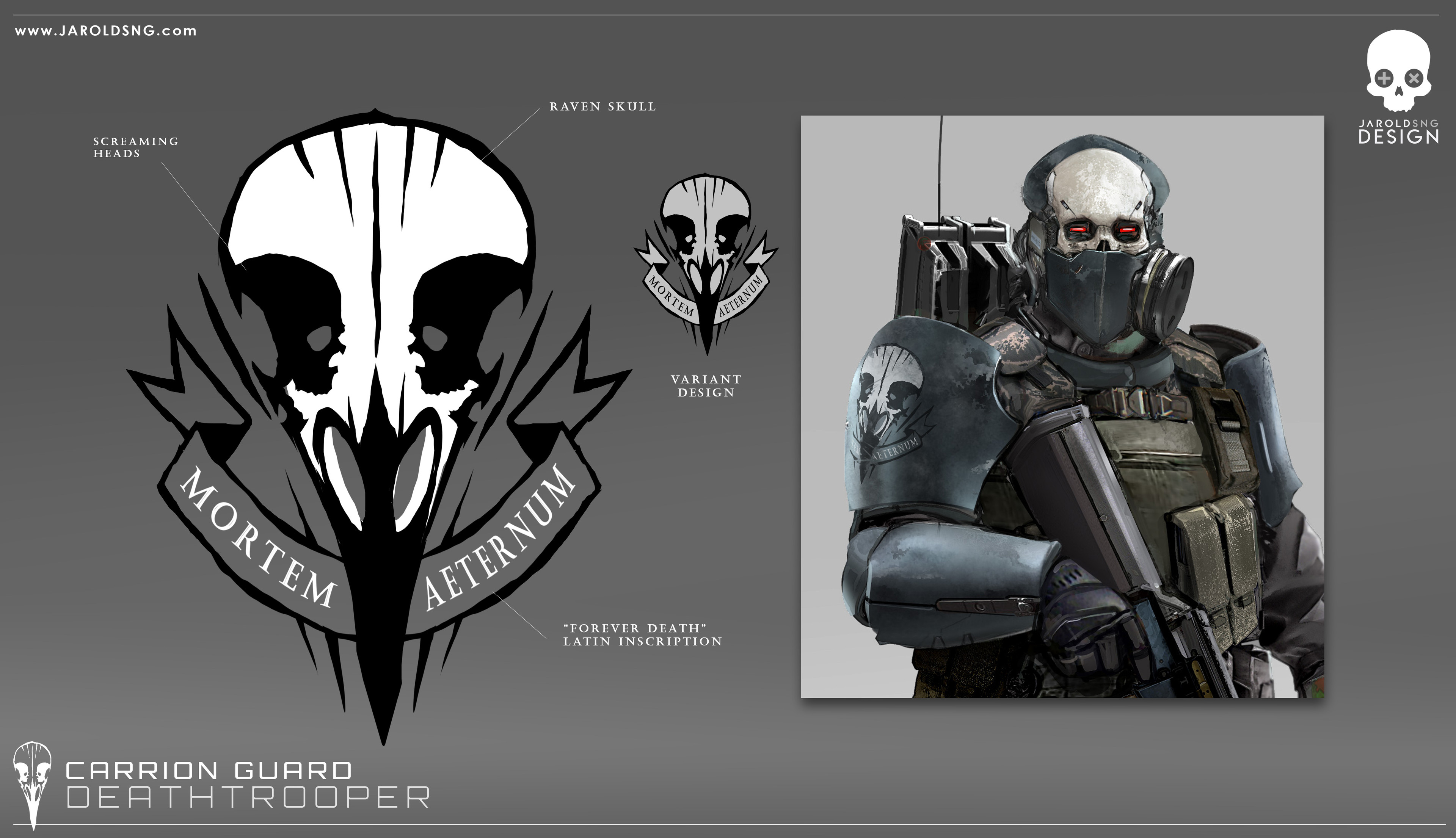 logo design for the Carrion Guard