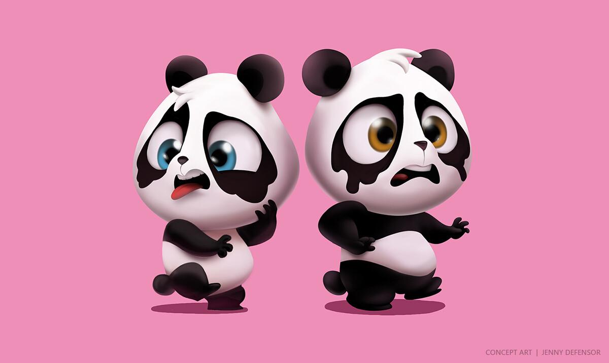 Jenny defensor panda aprovado