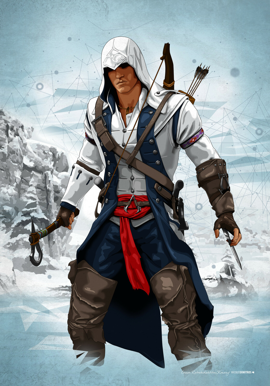 Connor Ratonhnhake:ton Kenway (Frontier 1775)