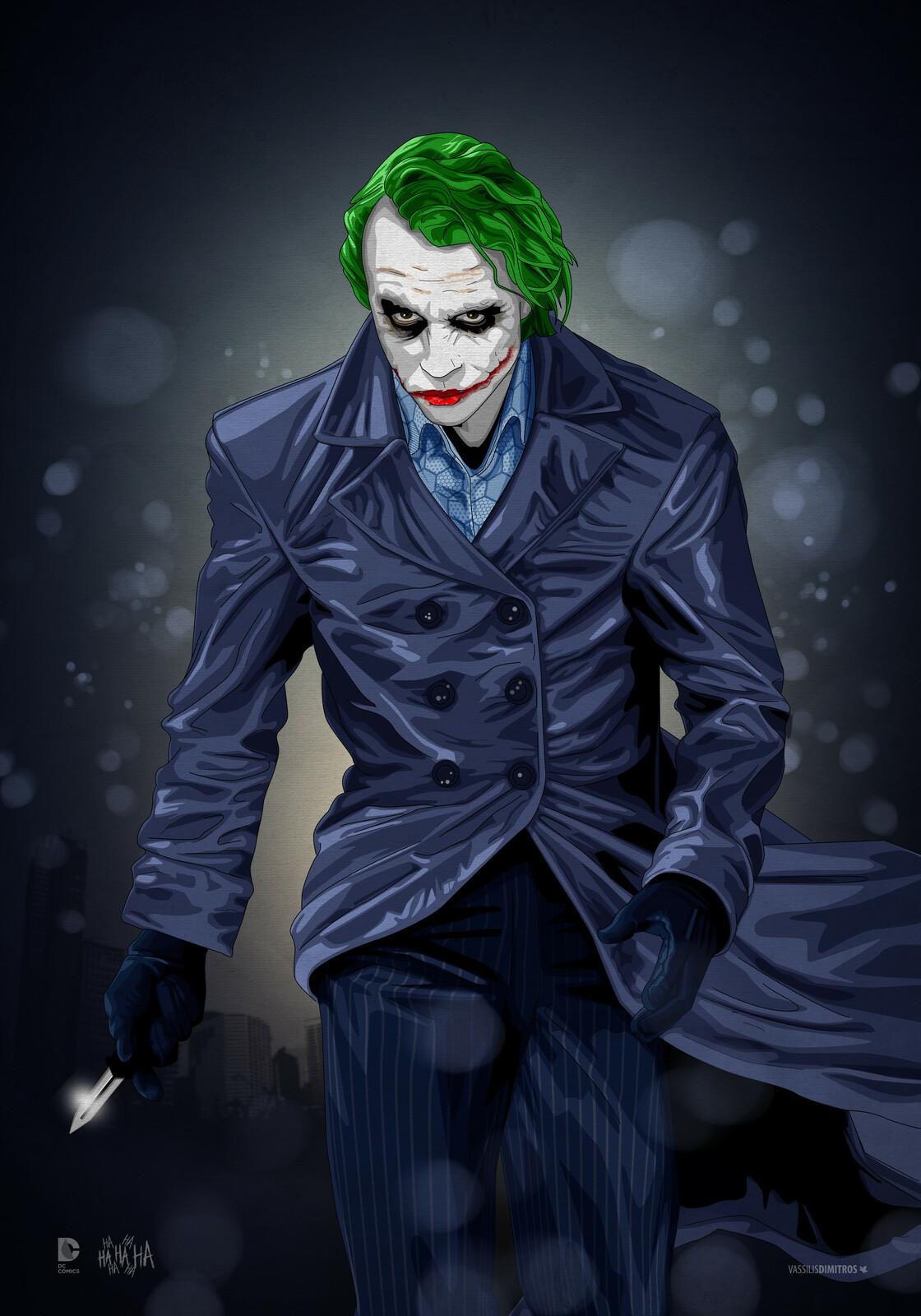 The Joker (Heath Ledger Tribute)