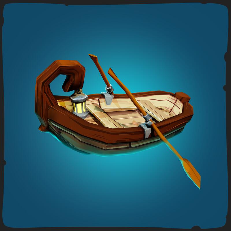 Rowboat - FANTASTIC Village Pack