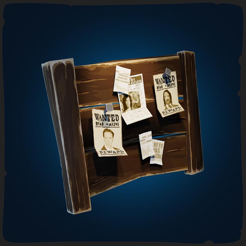 Bulletin Board - FANTASTIC Village Pack