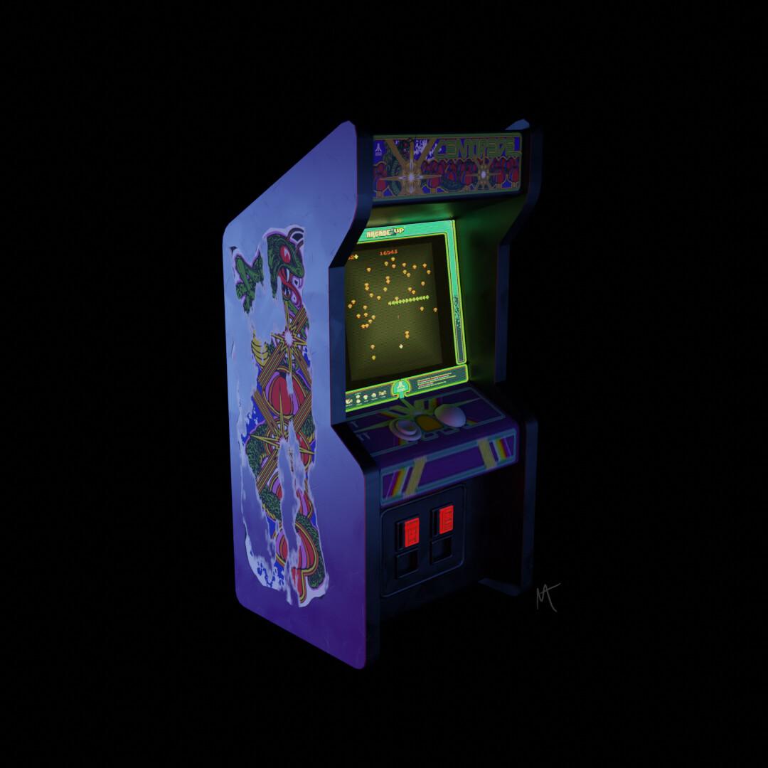 Artstation Centipede Arcade Tony Gushanas