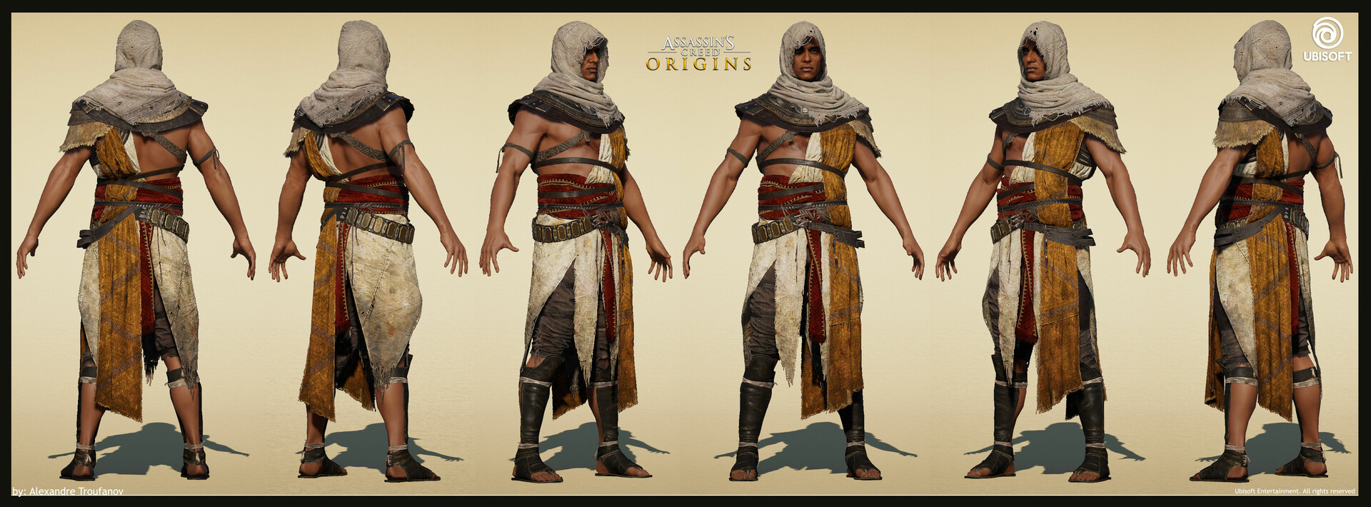 assassins creed origins bayek outfits