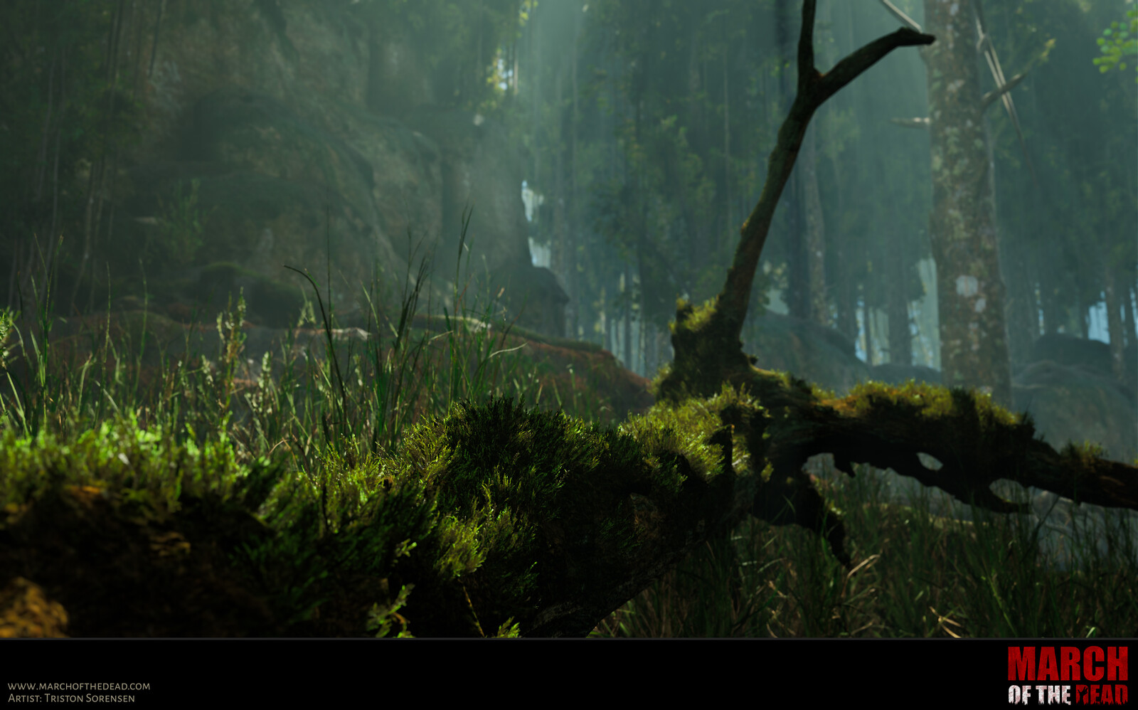 Furry Moss in Unreal