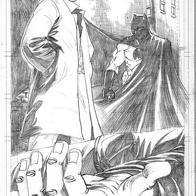 Afromation art batman manbat pg 1