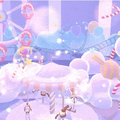 Judy kao artstation cartoon amusement park