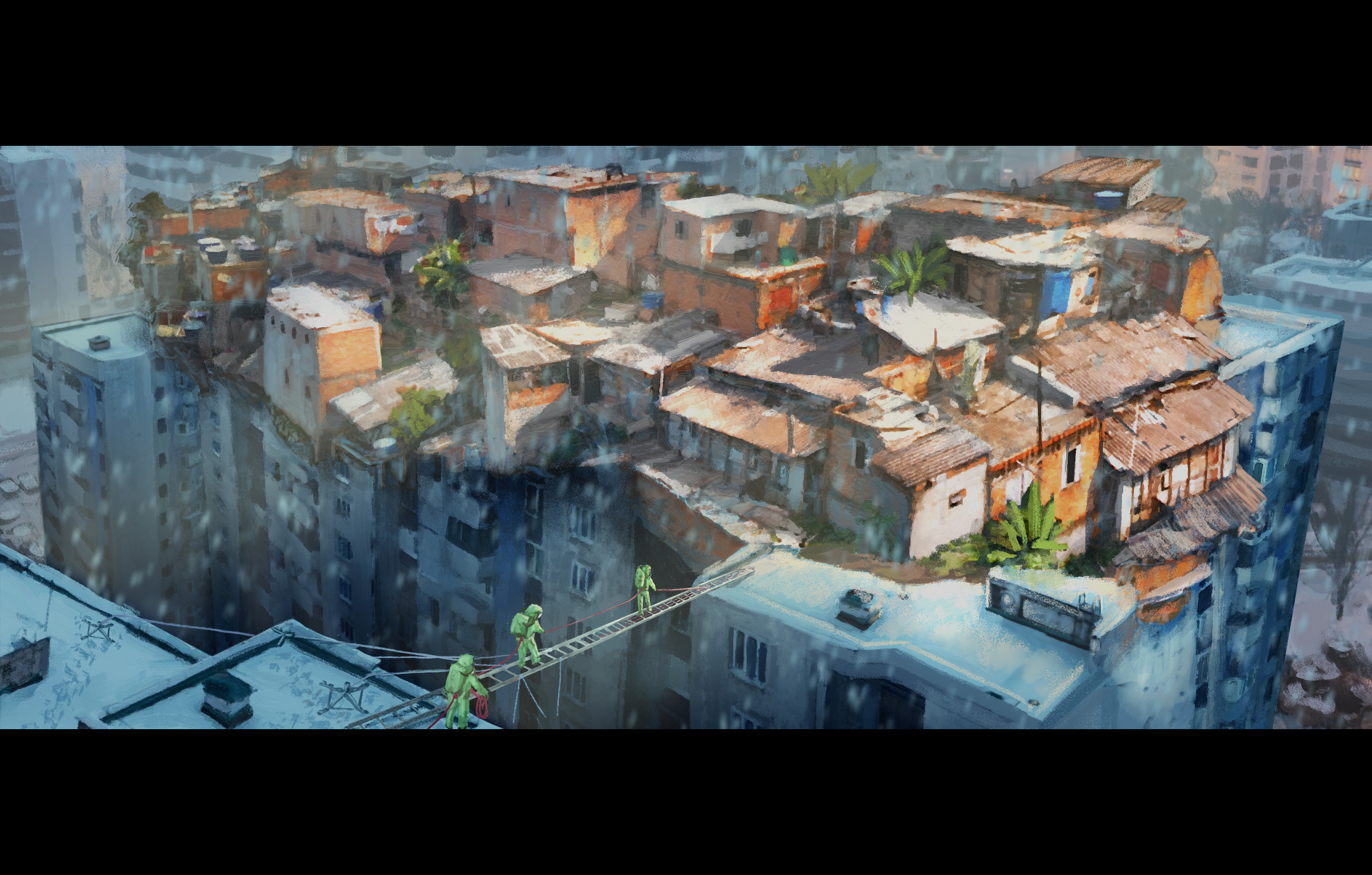 Favela on Moscow (150 min)