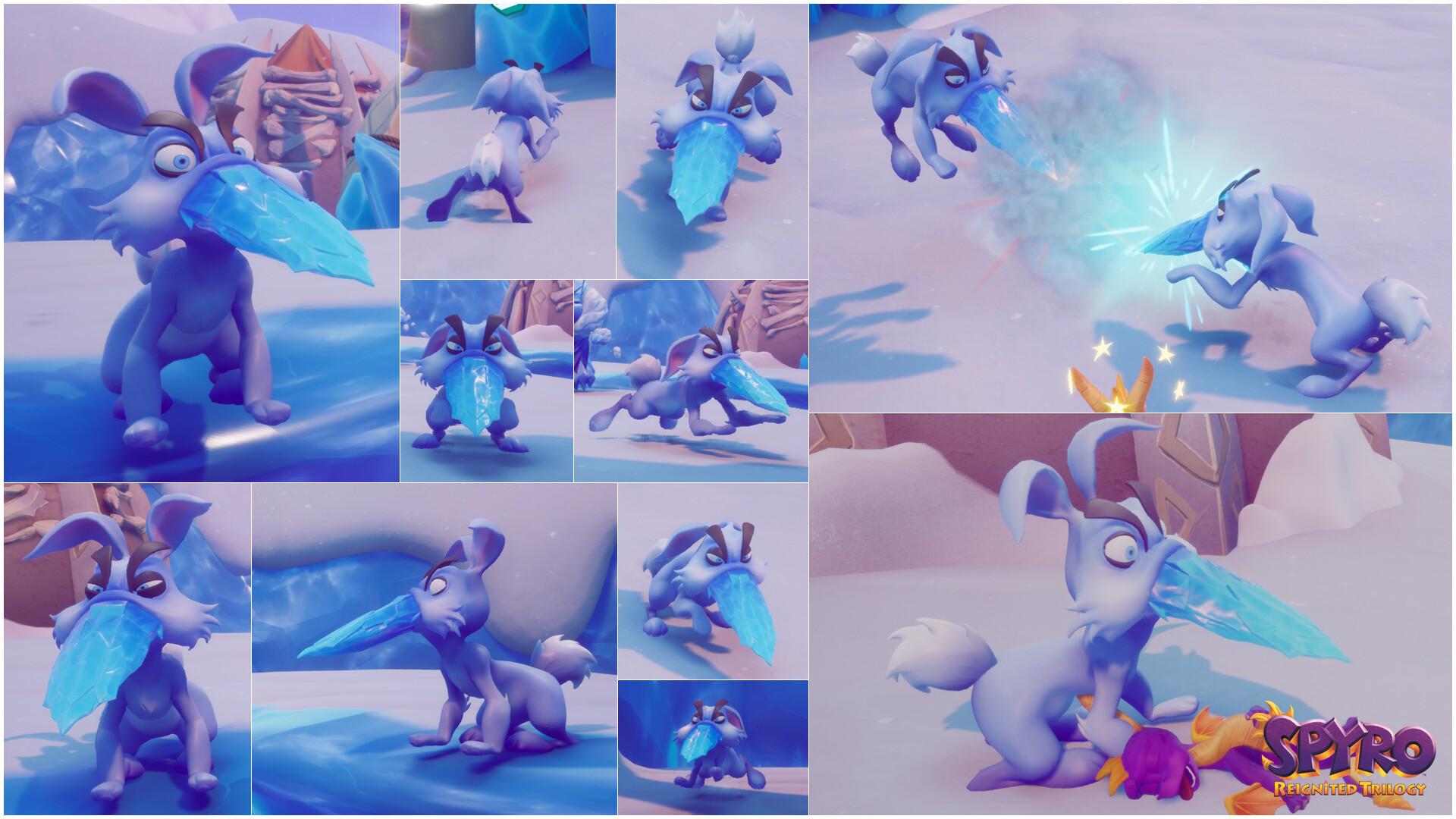 Alexandra jackson spyrotrilogy hornedrabbit collage