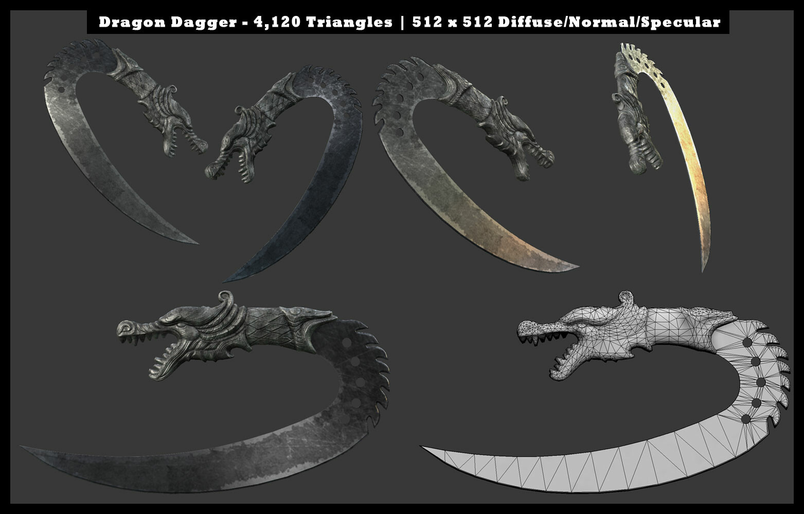 A fantasy blade inspired by Ulaks and the ceremonial knife from Far Cry 3.