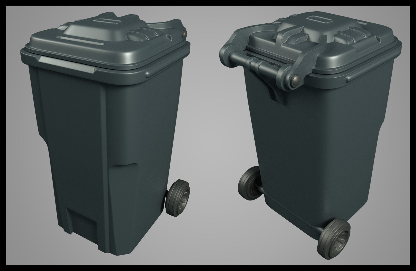 Trash can. 2% sci-fi, 98% reality.
