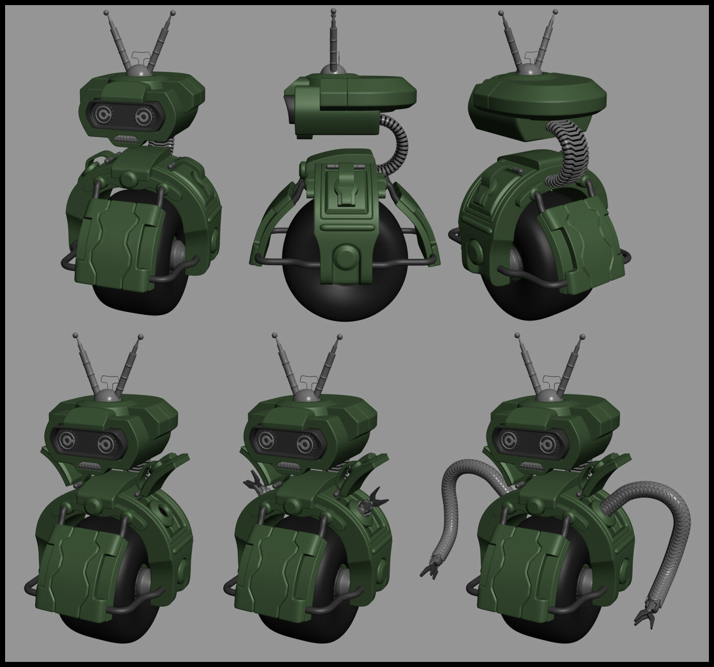 Bot high poly.