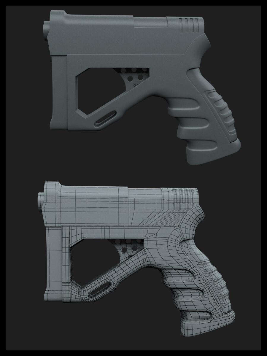 Pistol.