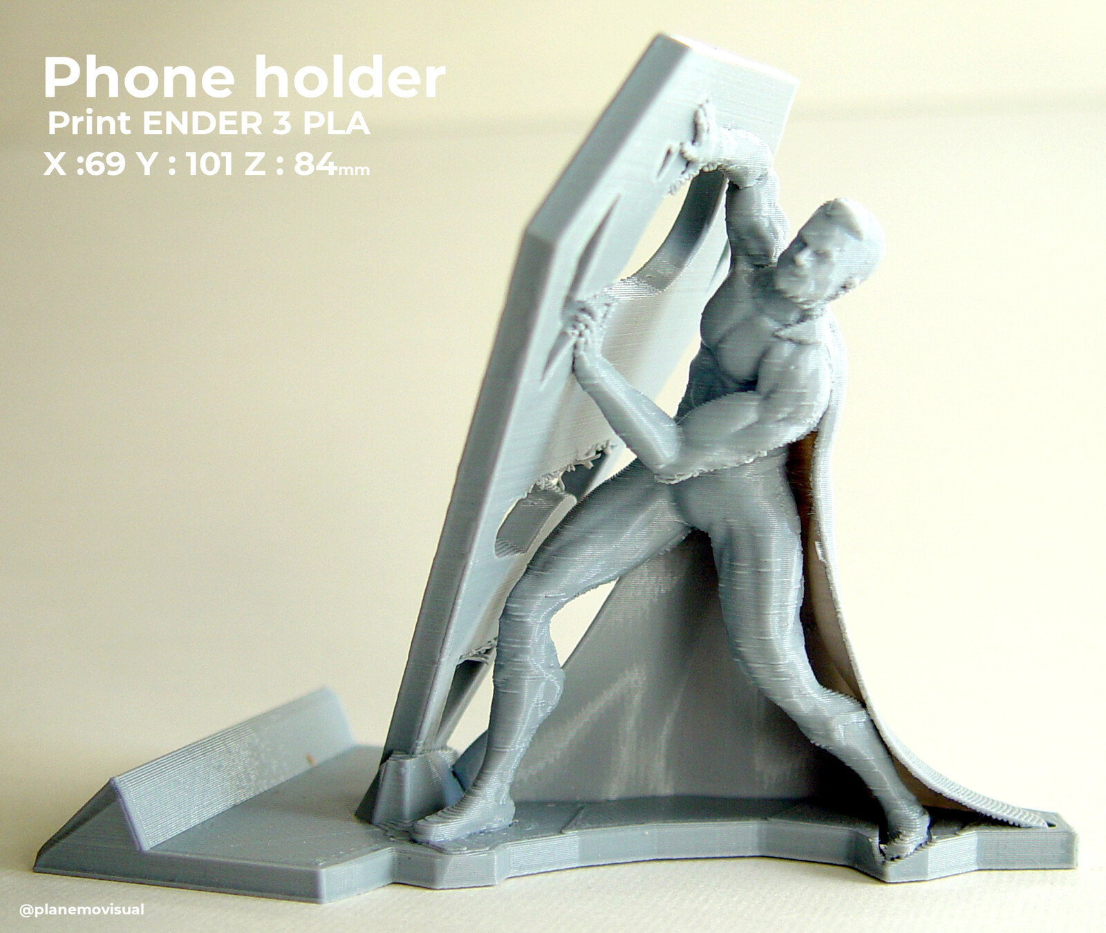 Download model STL https://www.thingiverse.com/thing:3904510