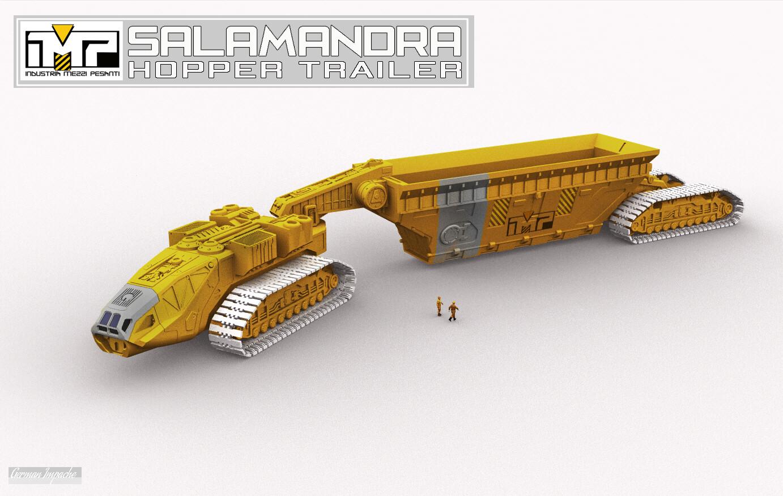 SALAMANDRA Hopper trailer