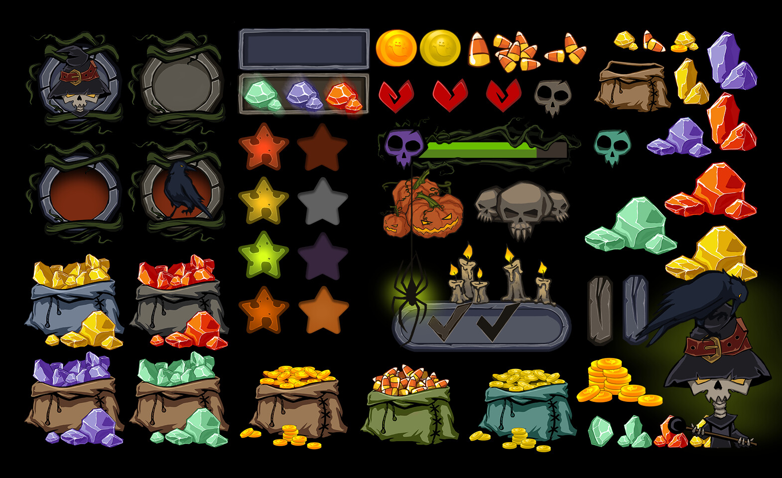 Moon tribe assets