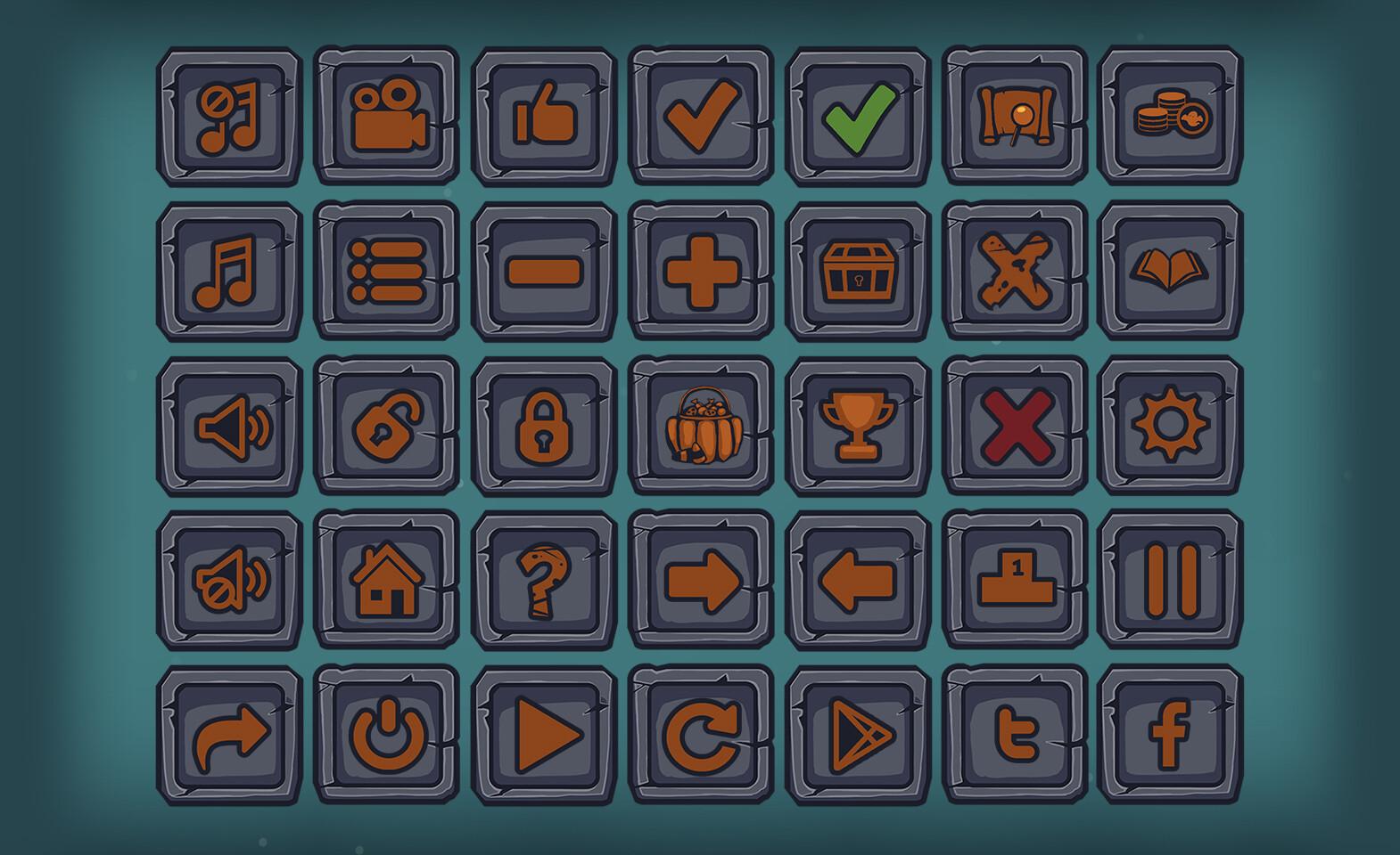 UI Buttons #2