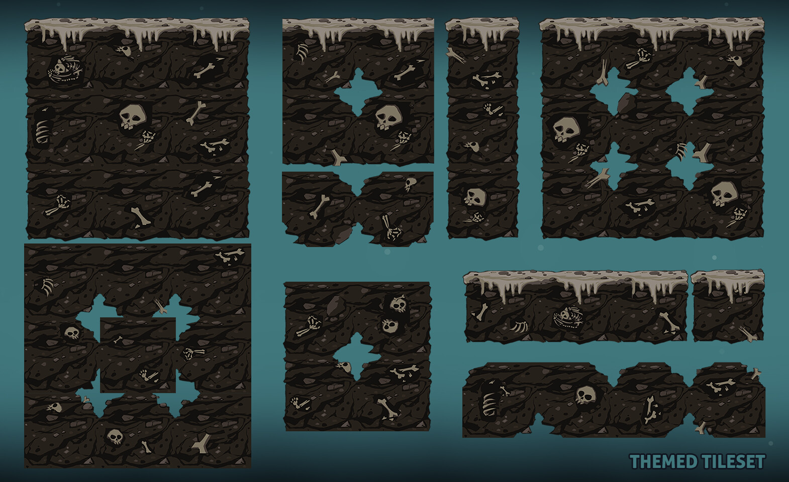 Moon tribe tiles