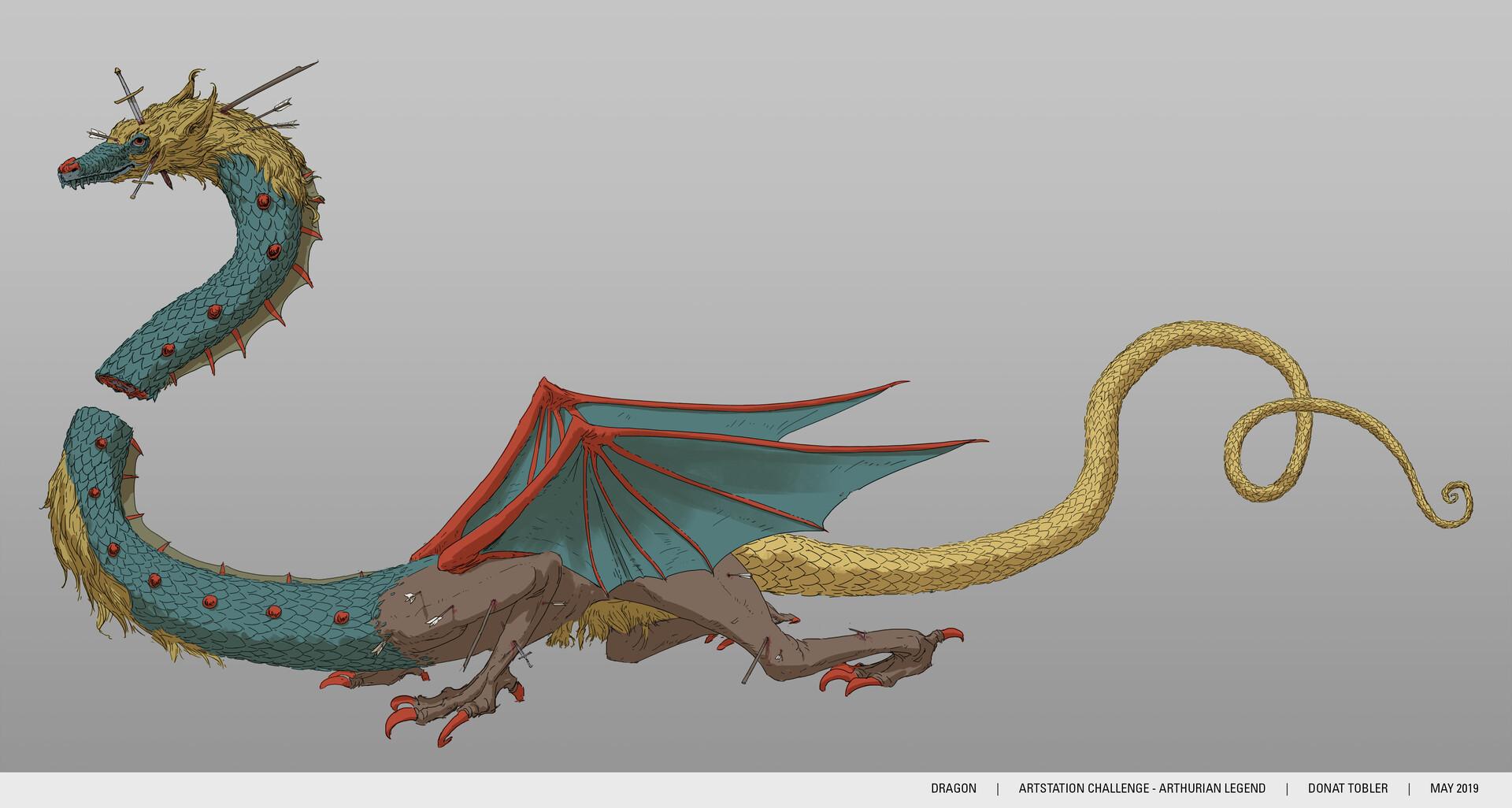 Donat tobler donattobler arthurchallenge dragon 75pc