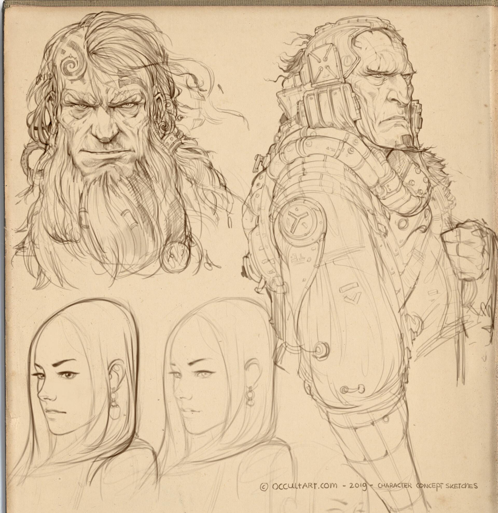 Occultart   concept sketches a01 006