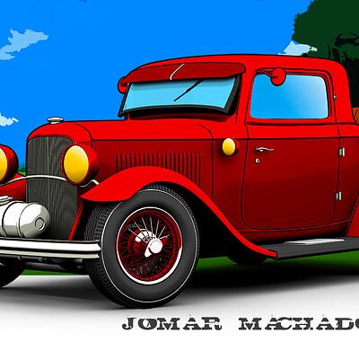 Jomar machado f ford rumble seat